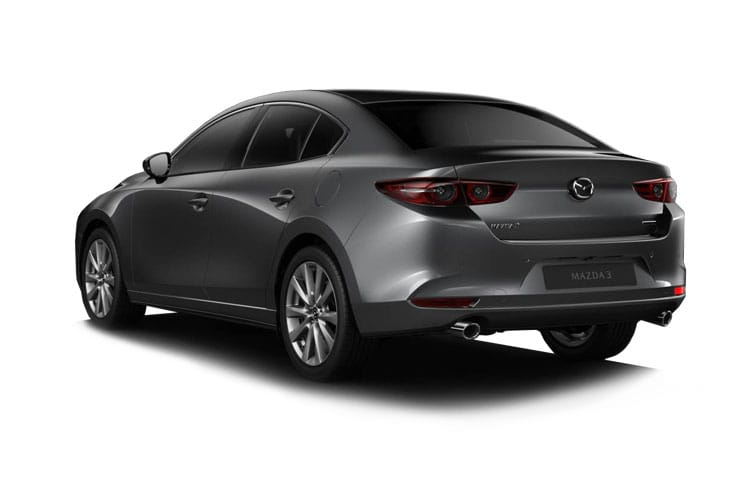 Mazda Mazda3 Saloon 2.0 SKYACTIV-X MHEV 180PS GT Sport Tech 4Dr Manual [Start Stop] back view