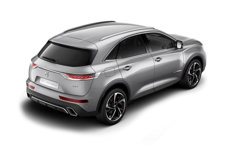 DS Automobiles DS 7 Crossback SUV 5Dr 1.6 PureTech 180PS Performance Line 5Dr EAT8 [Start Stop] back view
