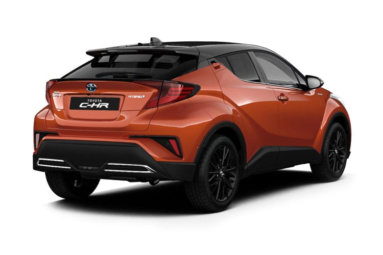 Toyota C-HR 5Dr 2.0 VVT-h 184PS GR SPORT 5Dr CVT [Start Stop] [Alcantara] back view
