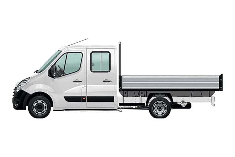 Vauxhall Movano F35 L3 2.3 CDTi BiTurbo FWD 150PS  Chassis Cab Manual [Start Stop] back view