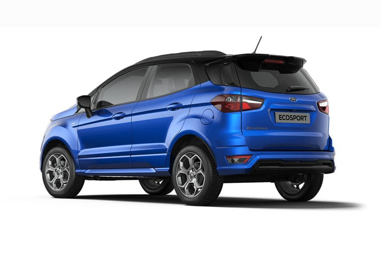 Ford EcoSport SUV 2WD 1.0 T EcoBoost 140PS ST-Line Black 5Dr Manual [Start Stop] [X Pack] back view