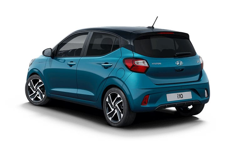 Hyundai i10 Hatch 5Dr 1.2  84PS Premium 5Dr Auto [Start Stop] [Tech] back view