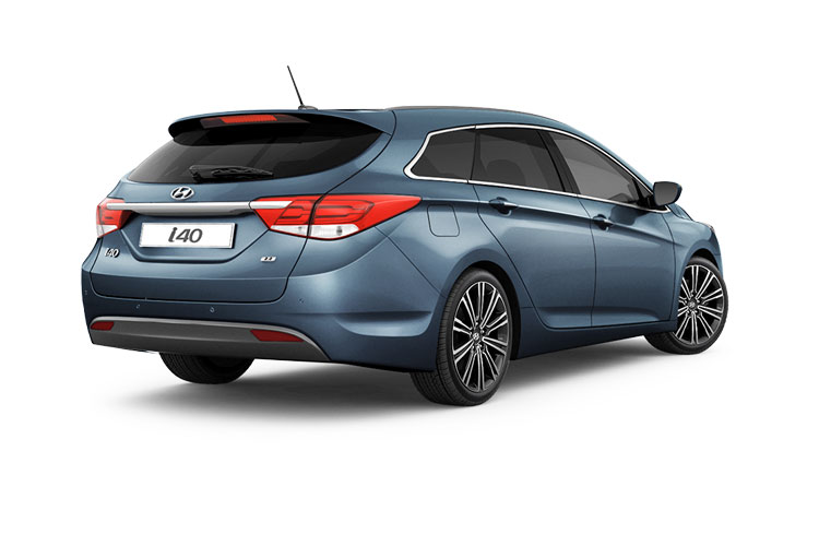 Hyundai i40 Tourer 1.7 CRDi Blue Drive 115PS S 5Dr Manual [Start Stop] back view