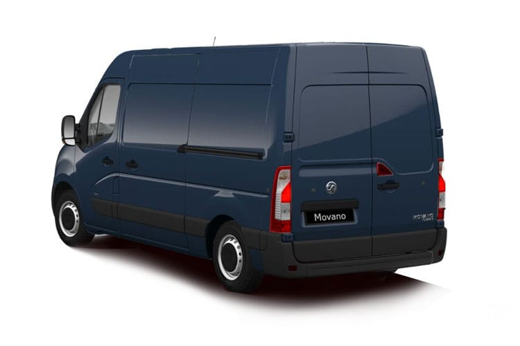 Vauxhall Movano R35 L4 2.3 CDTi BiTurbo RWD 145PS Edition Van High Roof Manual [Start Stop] back view