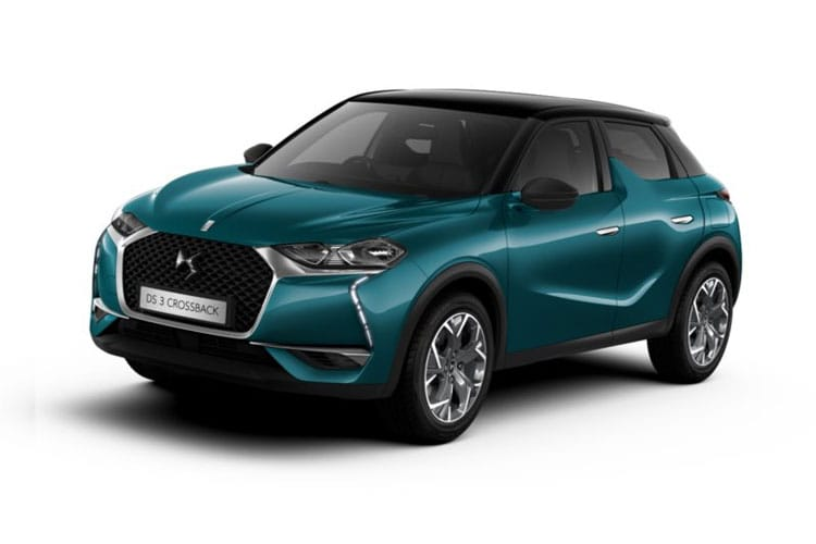 DS Automobiles DS 3 Crossback 5Dr 1.2 PureTech 100PS Elegance 5Dr Manual [Start Stop] front view