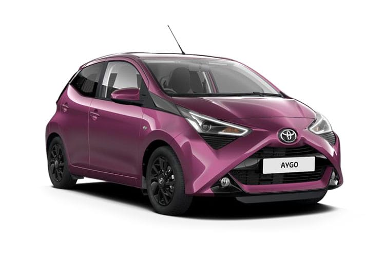 Toyota Aygo Hatch 5Dr 1.0 VVTi 71PS x-trend 5Dr Manual front view