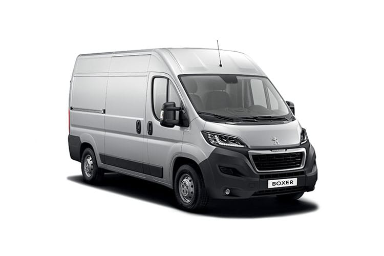 Peugeot Boxer HGV 440 L4 2.2 BlueHDi FWD 140PS Professional Van High Roof Manual [Start Stop] front view