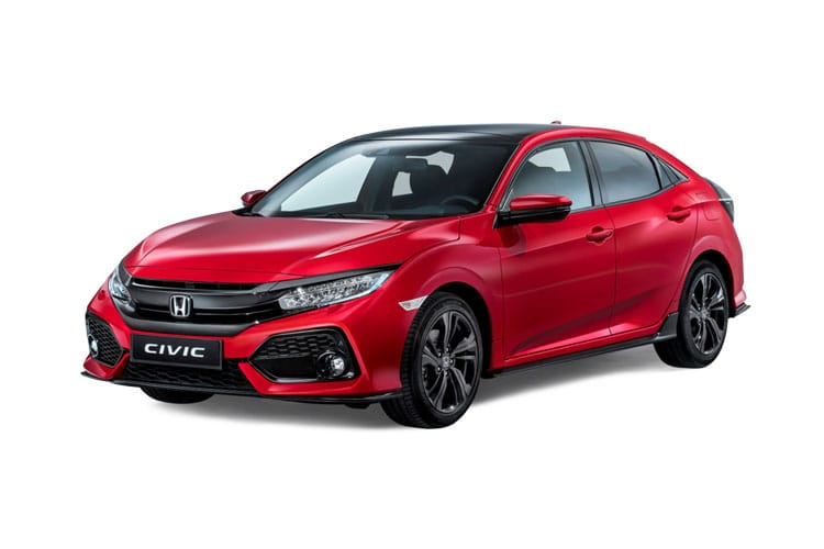 Honda Civic Hatch 5Dr 1.0 VTEC Turbo 126PS S 5Dr Manual [Start Stop] front view