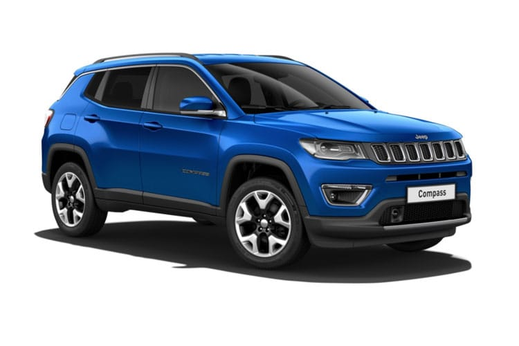 Jeep Compass SUV FWD 1.6 MultiJetII 120PS Night Eagle 5Dr Manual [Start Stop] front view