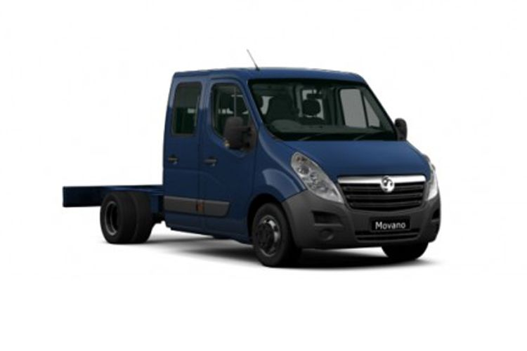 Vauxhall Movano HGV R45DRW L4 2.3 CDTi BiTurbo DRW 165PS  Chassis Cab Manual [Start Stop] front view