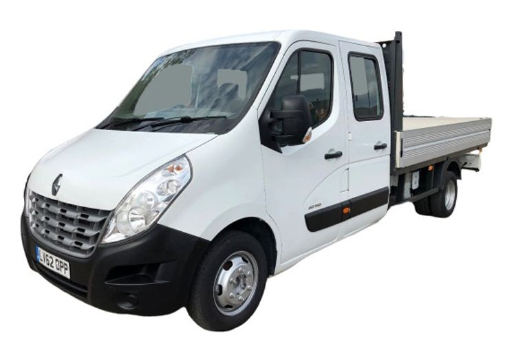 Renault Master LWBL 35TW 4X4 2.3 dCi ENERGY DR4 145PS Business Dropside Double Cab Manual [Start Stop] front view