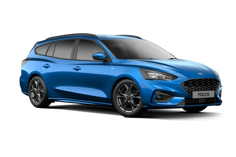 Ford Focus Estate 1.0 T EcoBoost MHEV 155PS Titanium Edition 5Dr Manual [Start Stop] front view
