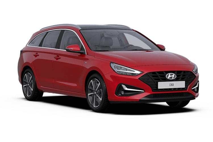 Hyundai i30 Tourer 1.0 T-GDi 120PS SE Nav 5Dr Manual [Start Stop] front view