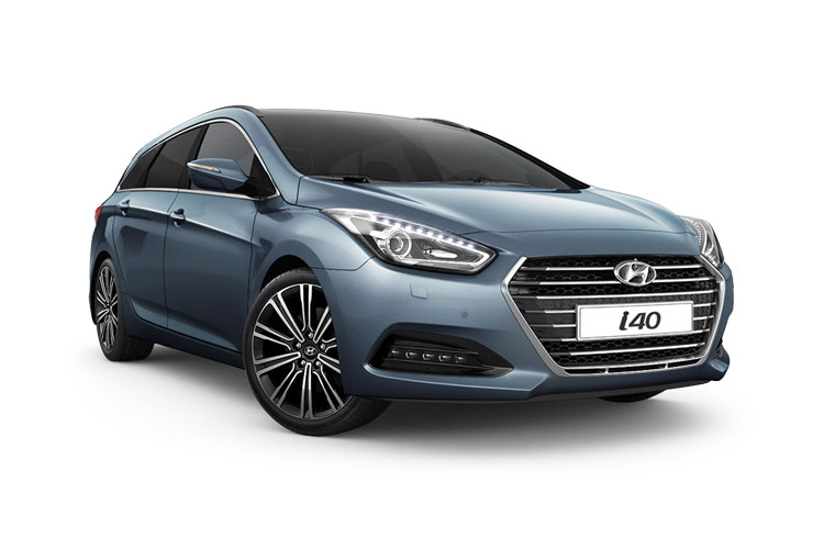 Hyundai i40 Tourer 1.7 CRDi Blue Drive 115PS S 5Dr Manual [Start Stop] front view