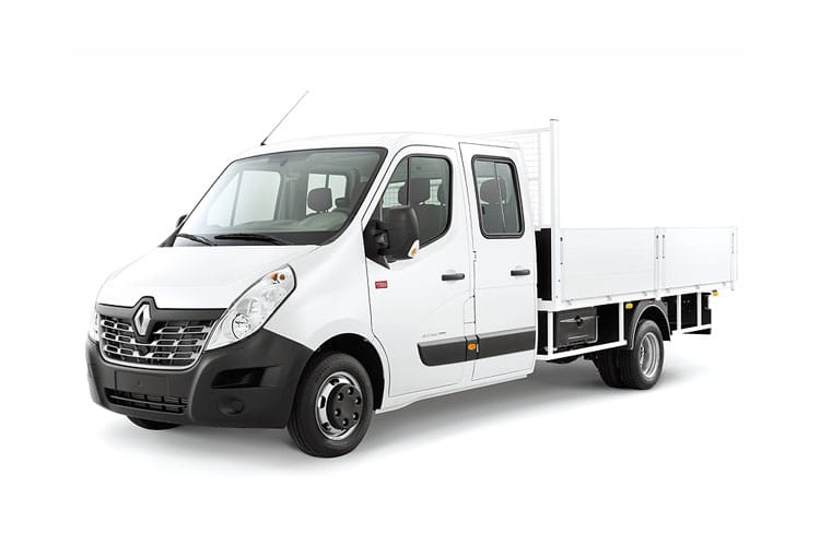 Renault Master MWB 35 RWD 2.3 dCi RWD 130PS Business Tipper Manual [Aluminium] front view