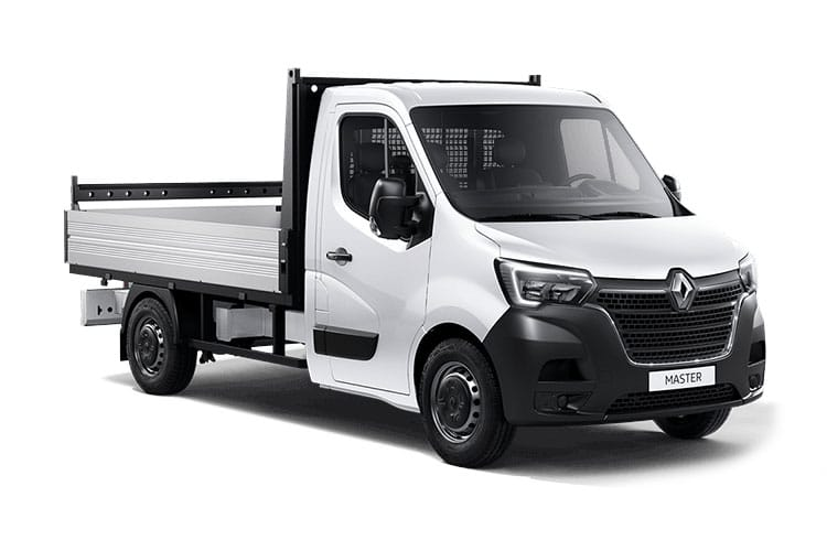 Renault Master MWB 35 FWD 2.3 dCi FWD 135PS Business Dropside Manual front view