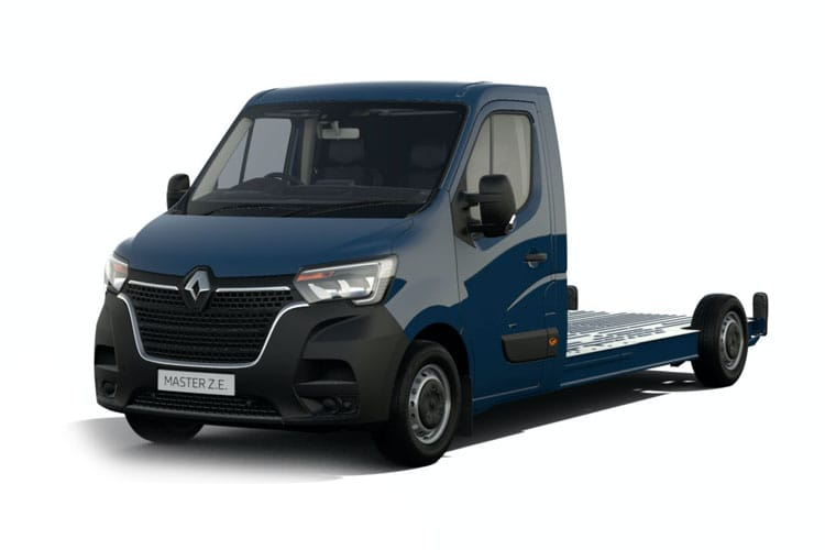 Renault Master LWB 35 4X4 2.3 dCi 4WD 130PS Business Chassis Cab Manual front view