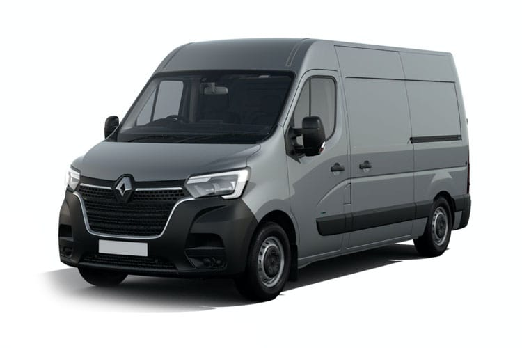 Renault Master LWBL 35 4X4 2.3 dCi 4WD 130PS Business Van Medium Roof Manual front view