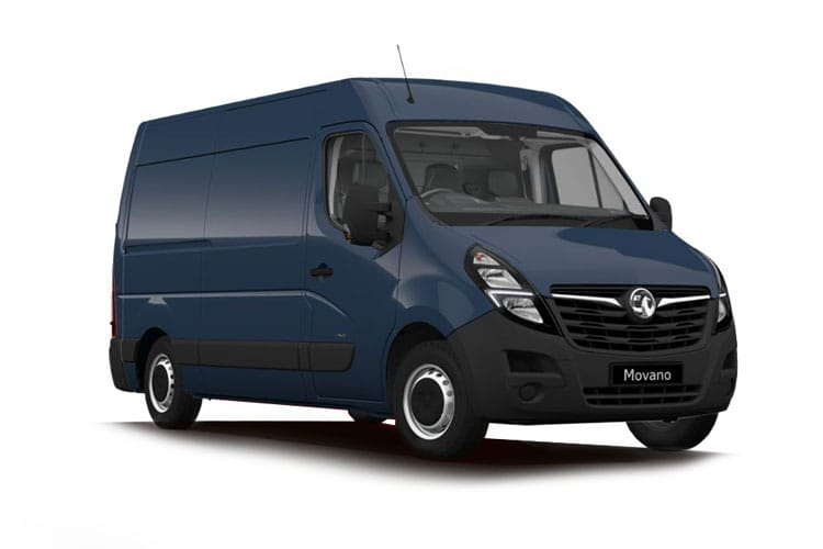 Vauxhall Movano HGV R45DRW L4 2.3 CDTi BiTurbo DRW 130PS Edition Van High Roof Manual front view