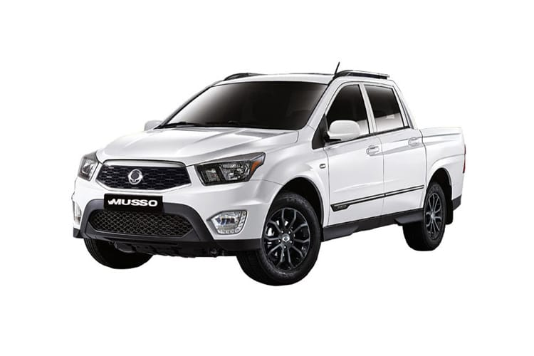 Ssangyong Musso Pick Up Double Cab 4WDS 2.2 d 4WS 181PS Saracen Pickup Double Cab Auto front view
