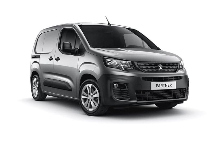 Peugeot Partner Standard 650Kg 1.5 BlueHDi FWD 75PS Professional Van Manual front view