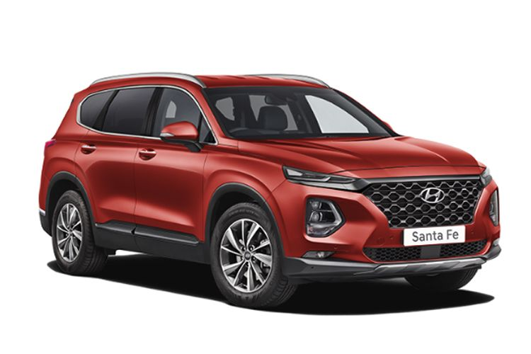 Hyundai Santa Fe SUV 2WD 1.6 h T-GDi 230PS Ultimate 5Dr Auto [Start Stop] [7 Seat] front view