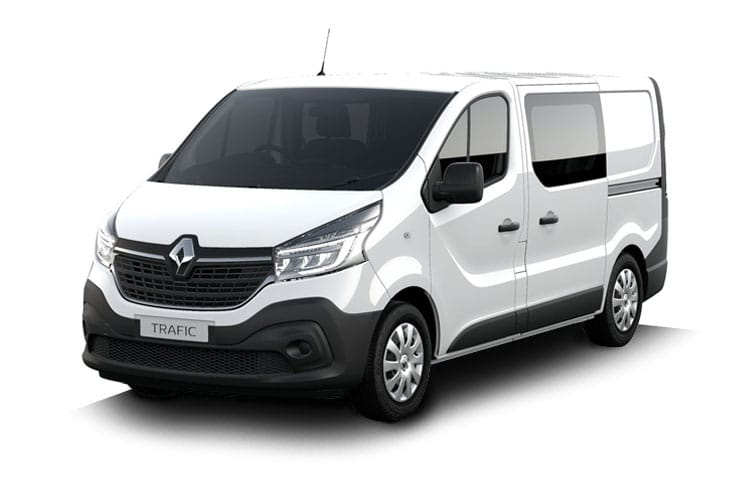 Renault Trafic 30 SWB 2.0 dCi ENERGY FWD 145PS Business+ Crew Van EDC [Start Stop] front view