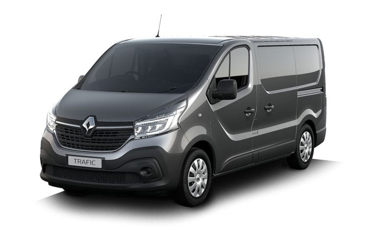 Renault Trafic 30 SWB 2.0 dCi ENERGY FWD 145PS Business+ Van High Roof Manual [Start Stop] front view