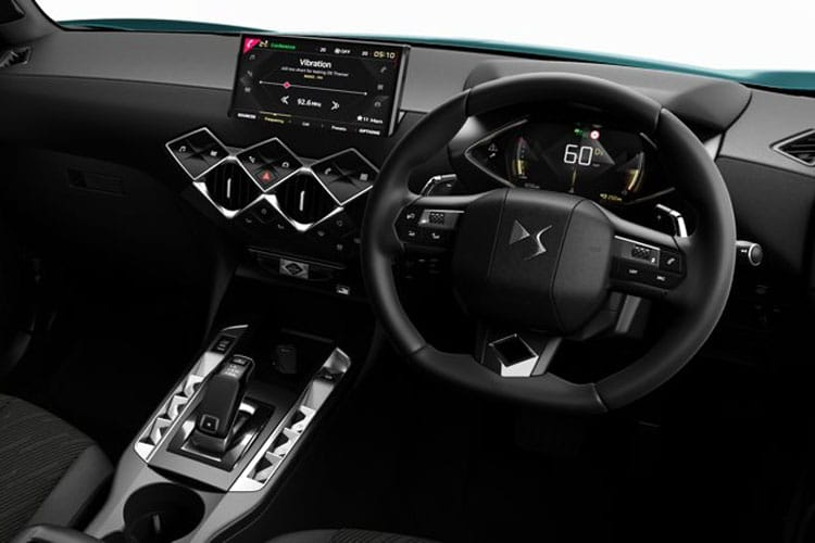 DS Automobiles DS 3 Crossback 5Dr 1.2 PureTech 100PS Elegance 5Dr Manual [Start Stop] inside view