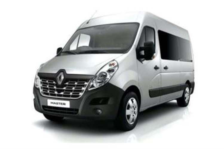 Renault Master LWBL 35 4X4 2.3 dCi ENERGY 4WD 145PS Business Window Van High Roof Manual [Start Stop] inside view