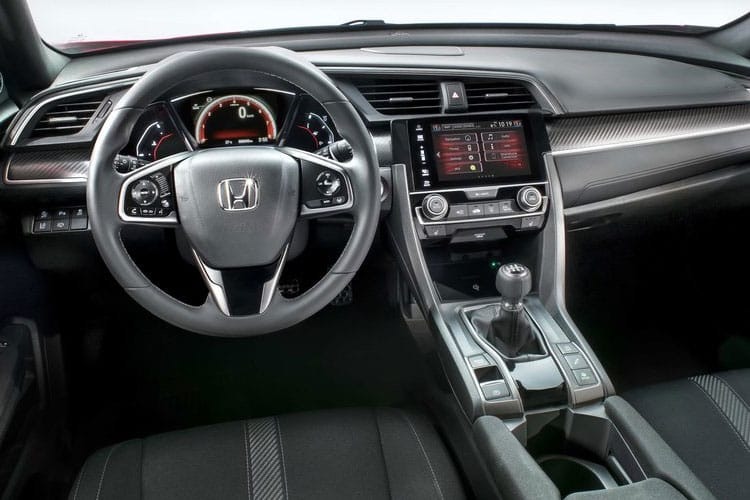 Honda Civic Hatch 5Dr 1.0 VTEC Turbo 126PS S 5Dr Manual [Start Stop] inside view