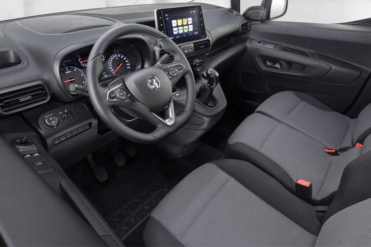 Vauxhall Combo Cargo L1 2300 4x4 1.5 Turbo D 4WD 130PS Edition Van Manual [Start Stop] inside view