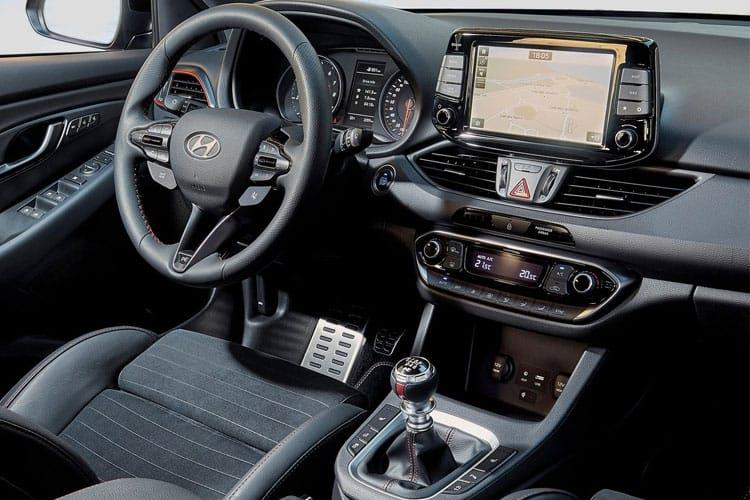 Hyundai i30 Fastback 5Dr 1.4 T-GDi 140PS N Line + 5Dr Manual [Start Stop] inside view