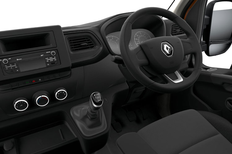 Renault Master MWB 35 FWD 2.3 dCi FWD 135PS Business Dropside Manual inside view