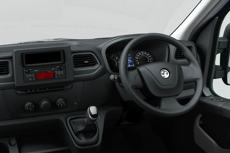 Vauxhall Movano R35 L4 2.3 CDTi BiTurbo RWD 145PS Edition Van High Roof Manual [Start Stop] inside view