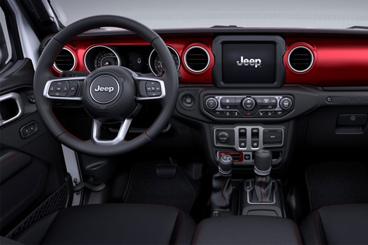 Jeep Wrangler SUV 4Dr 2.0 GME 272PS Night Eagle 4Dr Auto [Start Stop] inside view